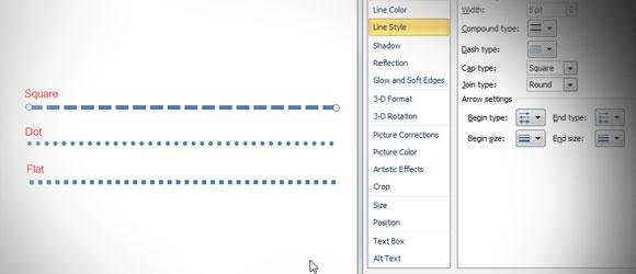 Drawing Lines In Powerpoint : Insertar una línea de puntos en powerpoint