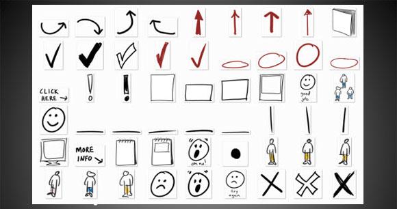 Hand Drawn Circle PowerPoint Shape